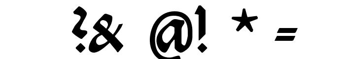 Burte-Fraktur Font OTHER CHARS