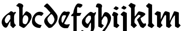 Burte-Fraktur Font LOWERCASE