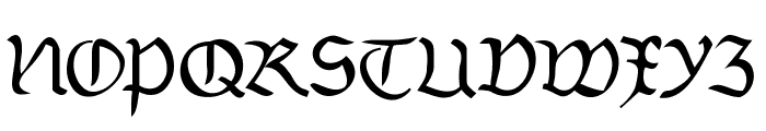 Burtinomatic Font UPPERCASE