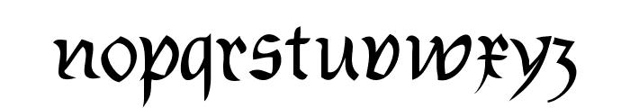 Burtinomatic Font LOWERCASE