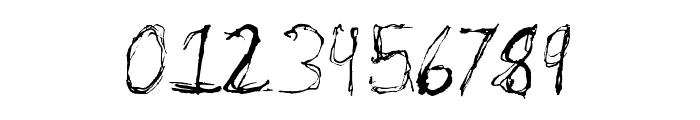 Burton Scratch Regular Font OTHER CHARS