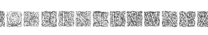 Burton Font LOWERCASE