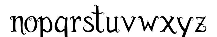 Burton's Dreams Pro Font LOWERCASE