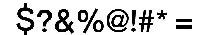 Burvetica NC Font OTHER CHARS