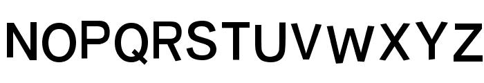 Burvetica NC Font UPPERCASE