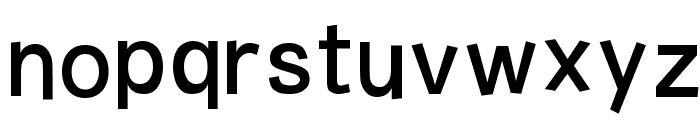 Burvetica NC Font LOWERCASE