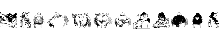 BuschButGerman Font LOWERCASE