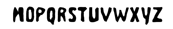 Business Suit Font LOWERCASE