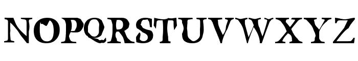 Bustamante1.0 Font UPPERCASE