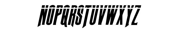 Butch & Sundance Bullet Italic Font LOWERCASE