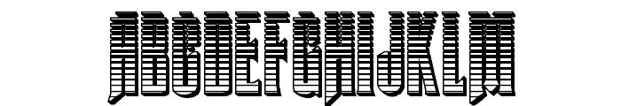Butch & Sundance Chrome Regular Font UPPERCASE