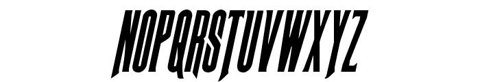 Butch & Sundance Condensed Italic Font UPPERCASE