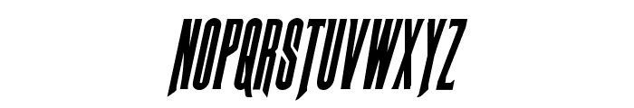 Butch & Sundance Condensed Italic Font LOWERCASE