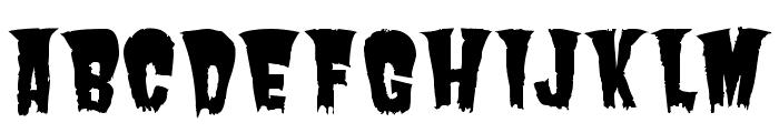 Butcherman Caps Regular Font LOWERCASE