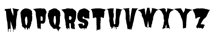 Butchermann Caps Regular Font UPPERCASE