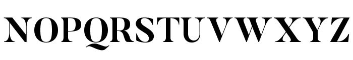 Butler-Bold Font UPPERCASE