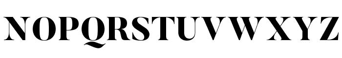 Butler-ExtraBold Font UPPERCASE