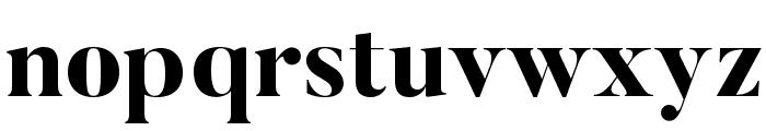 Butler-ExtraBold Font LOWERCASE