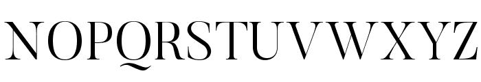 Butler-Light Font UPPERCASE