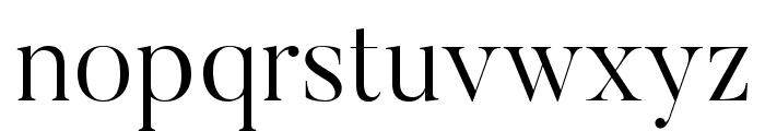 Butler-Light Font LOWERCASE