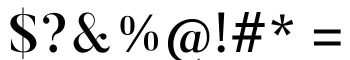 Butler-Medium Font OTHER CHARS
