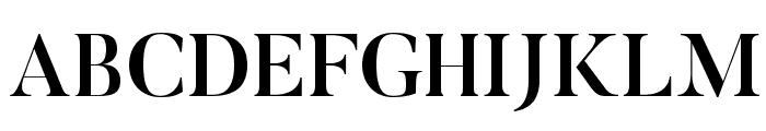 Butler-Medium Font UPPERCASE