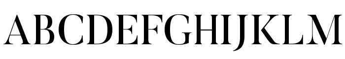 Butler Font UPPERCASE