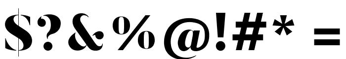 ButlerStencil-Black Font OTHER CHARS