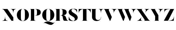ButlerStencil-Black Font UPPERCASE