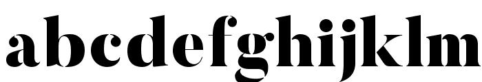 ButlerStencil-Black Font LOWERCASE