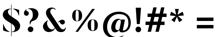 ButlerStencil-ExtraBold Font OTHER CHARS