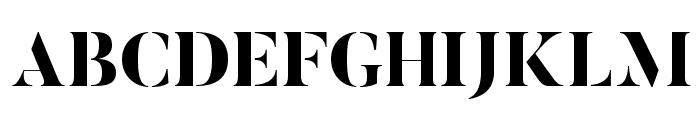 ButlerStencil-ExtraBold Font UPPERCASE
