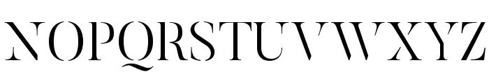 ButlerStencil-Light Font UPPERCASE