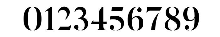 ButlerStencil-Medium Font OTHER CHARS