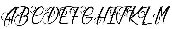 Butter Kings Font UPPERCASE