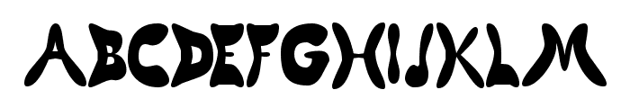 Butterfly Chromosome AOE Font UPPERCASE