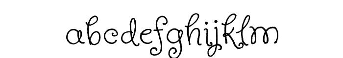 Butterfly Kids Font LOWERCASE
