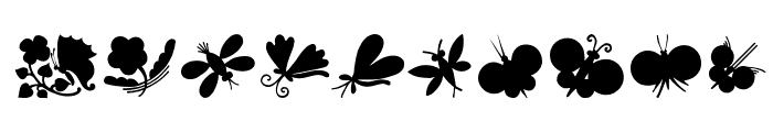 ButterflyAndCo Font OTHER CHARS