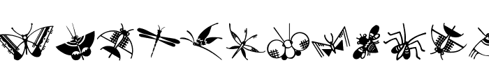 ButterflyAndCo Font LOWERCASE
