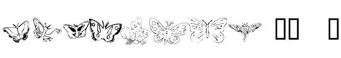ButterflyHeaven Font UPPERCASE