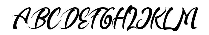 Buttermill Font UPPERCASE
