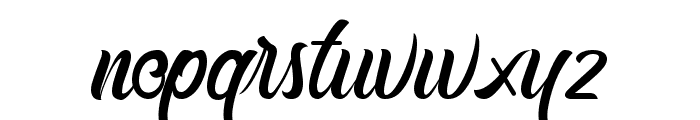 Buttermill Font LOWERCASE