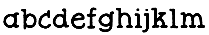Butterzone DEMO Regular Font LOWERCASE