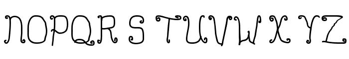 Buttmunch Font UPPERCASE