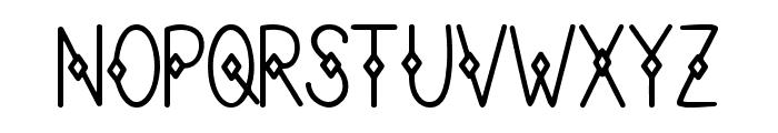 Button Box Font UPPERCASE