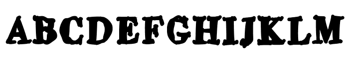 Buttoni Font UPPERCASE