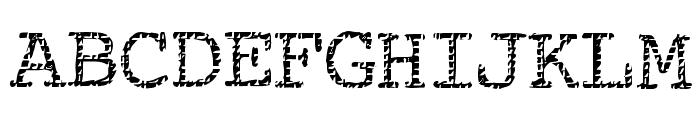 Buttzilla Font UPPERCASE