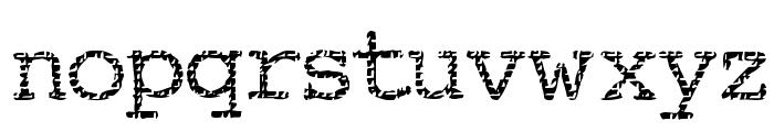 Buttzilla Font LOWERCASE