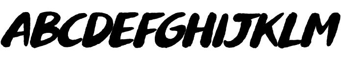 Buvard Font UPPERCASE