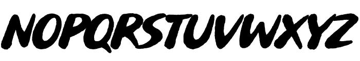 Buvard Font LOWERCASE